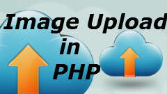 Image upload in PHP