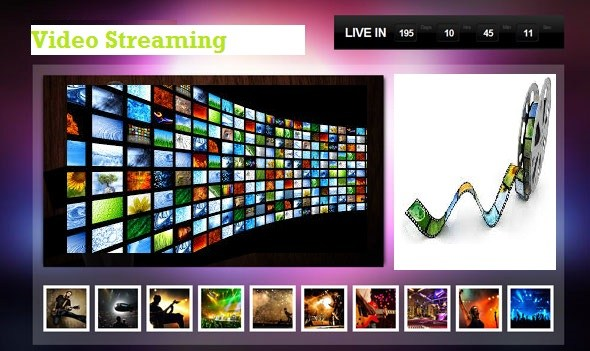 Live Video streaming PHP programming project download